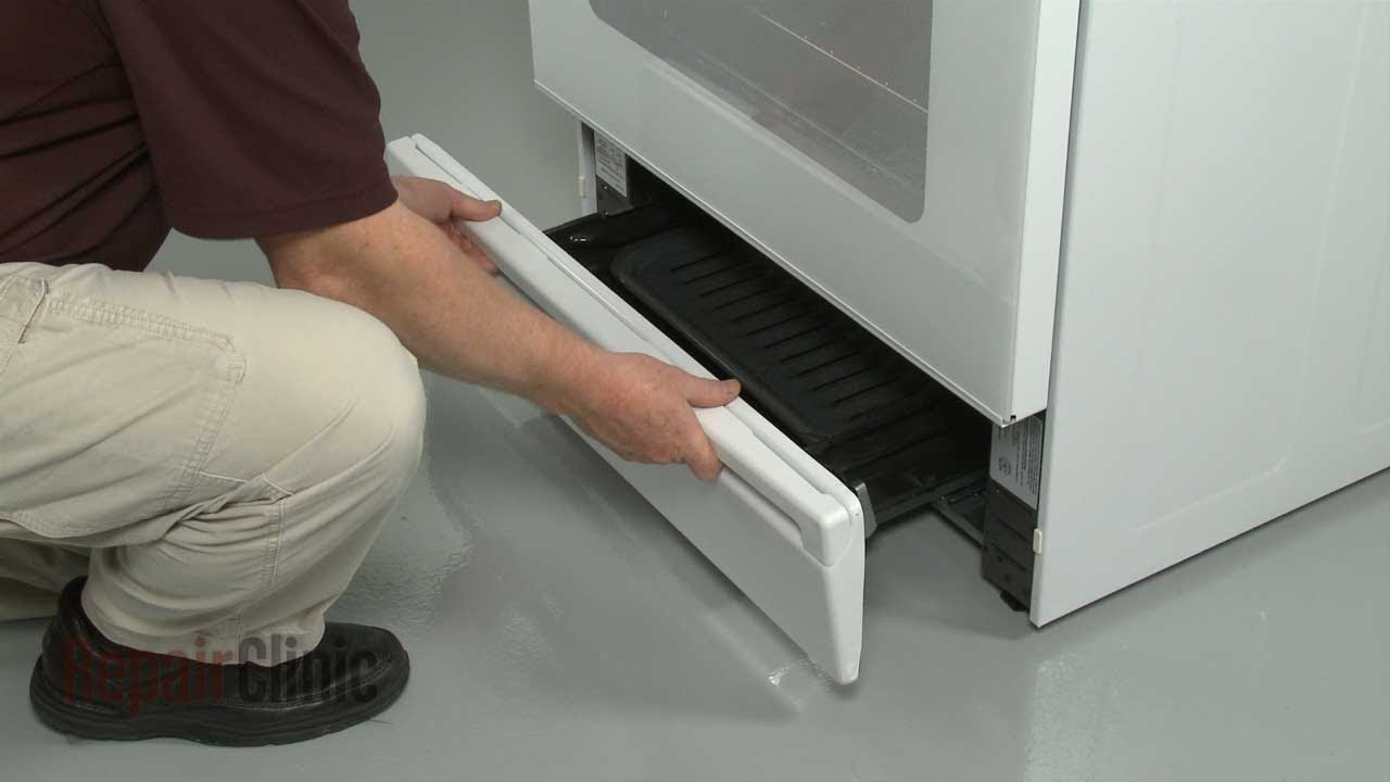 Ge Gas Range Oven Broiler Drawer Handle Replacement