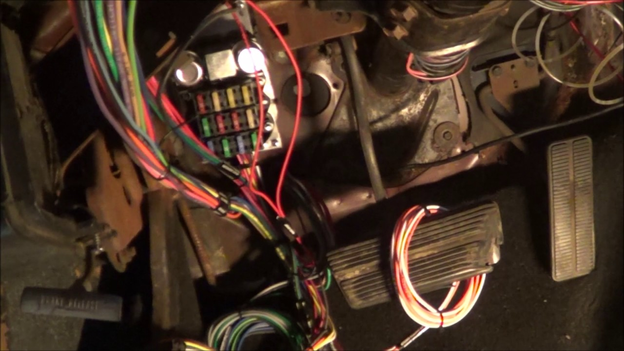 67 Camaro Dash Light Wiring