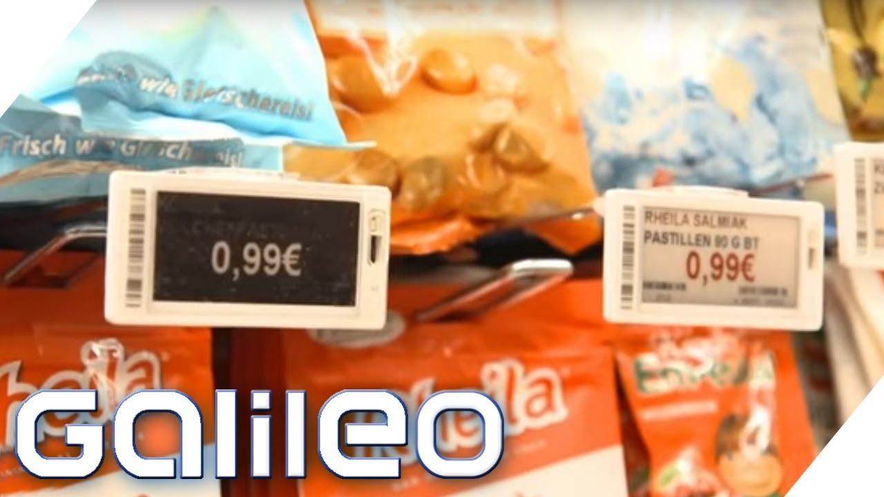 Wie Funktionieren Die Elektronischen Preisschilder Galileo