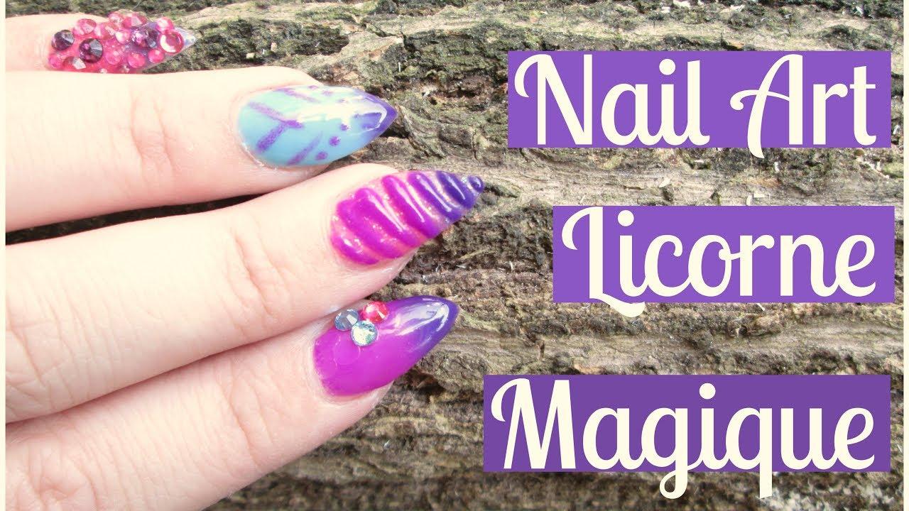 NAIL ART Effet Licorne Magique , change de couleur ! Thermogel en VSP