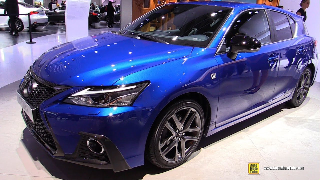2018 Lexus Ct200h F Sport Exterior And Interior Walkaround Debut At 2017 Frankfurt Auto Show