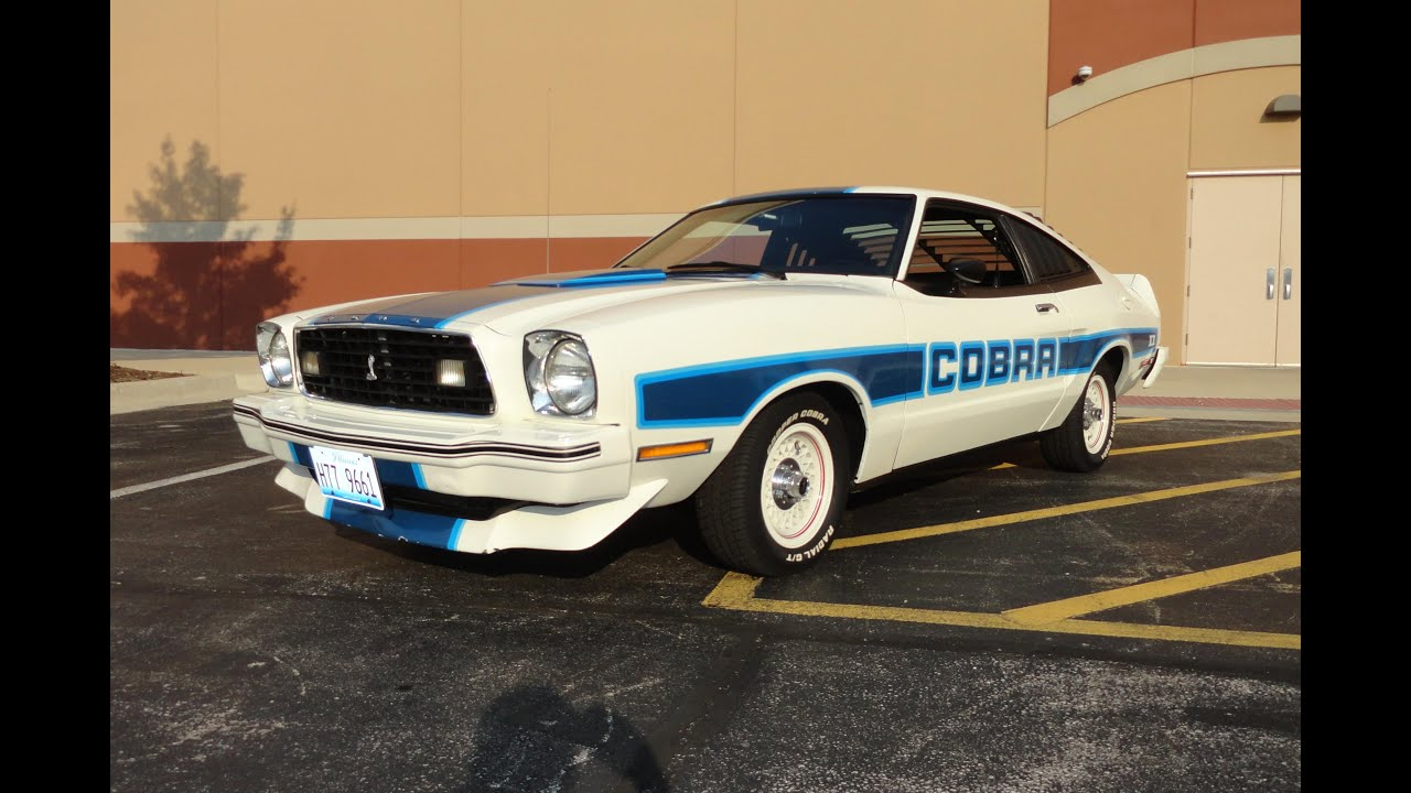 1978 Ford Mustang Cobra II On My Car Story With Lou Costabile