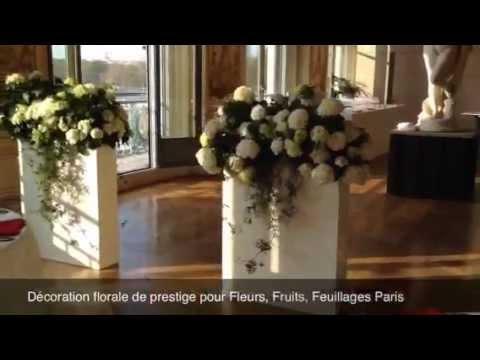 D coration florale de prestige pour fleurs fruits for Decoration florale