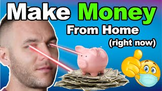 Proven Way To Make Extra Money From Home (Right Now)