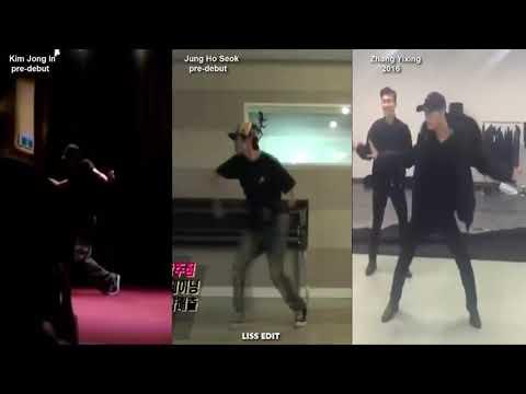 Kai - J-hope - Lay NLT - Let Me Know dance comparison