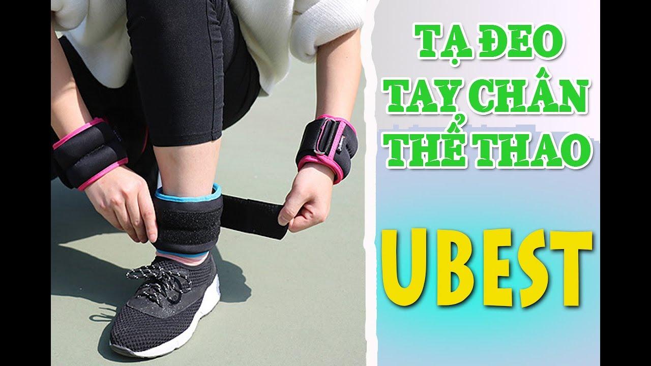 Tạ UBEST đeo tay – chân nhiều kích cỡ & tiện dụng – Sportslink Channel