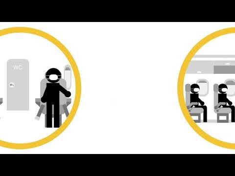 Measures taken on flights so you can fly safe