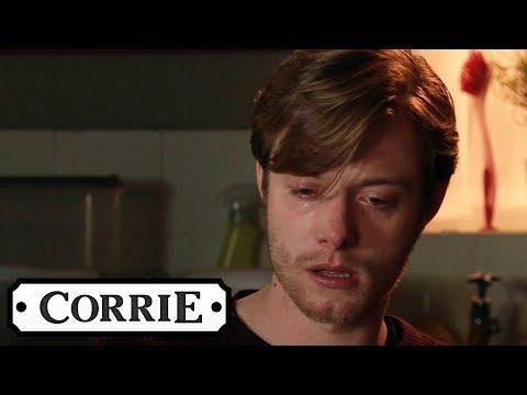 Grieving Daniel Locks Himself Away In His Flat | Coronation Street