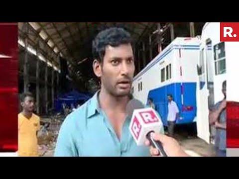Tamil Actor Vishal Speaks To Republic TV | Exclusive