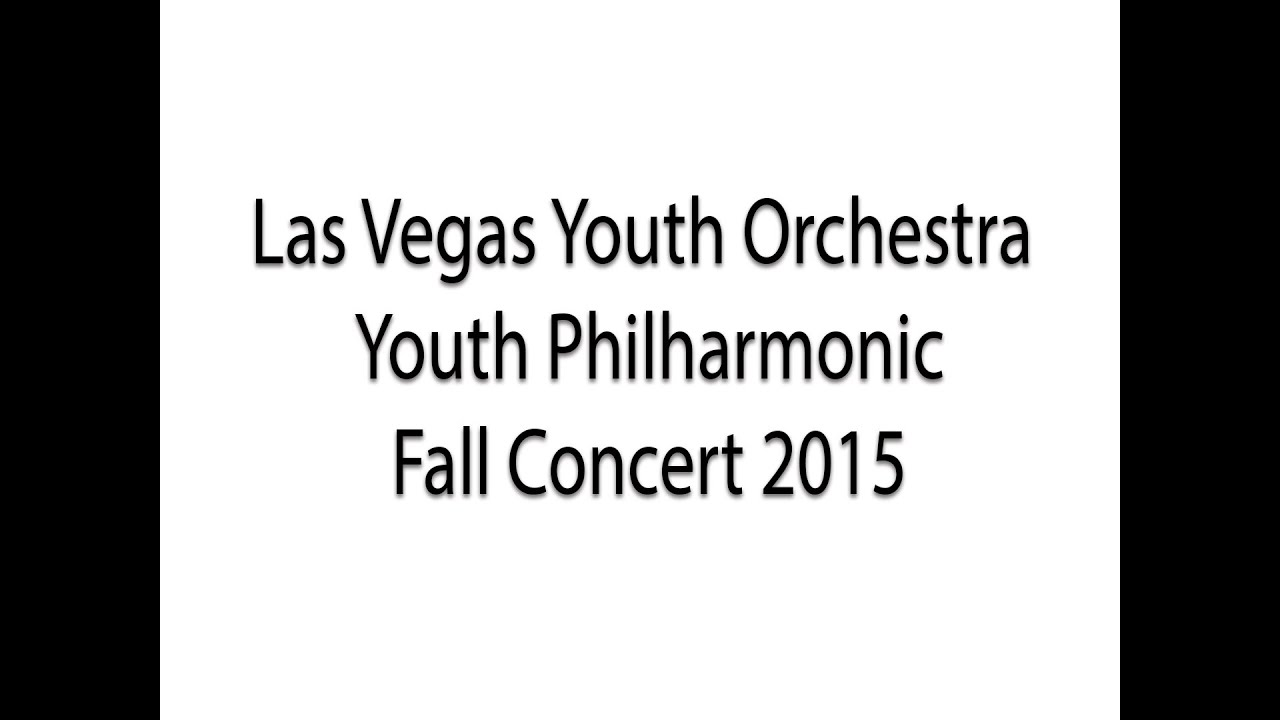 LVYO 2015 Fall Concert| Philharmonic
