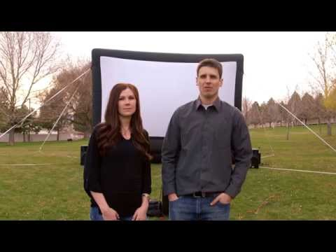 Inflatable Movie Screen Rental | We are Canyon Party Rental