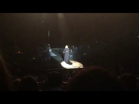 Adele performing 'Turning Tables' at the Wiltern