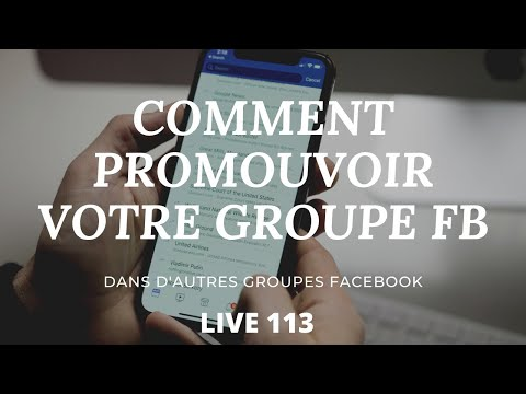 Comment Promouvoir votre Groupe FB dans les autres groupes FB