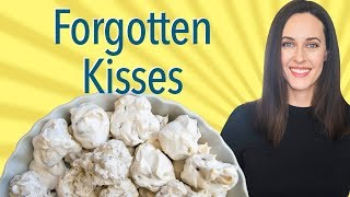 Forgotten Kisses Recipe Demo - Meringue Cookie, Vegan Option