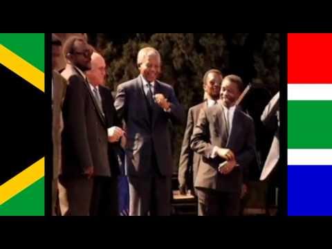 60 seconds of Nelson Mandela dancing to 'Free Nelson Mandela' (Tribute)