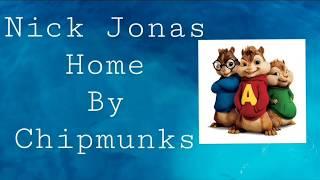 Nick Jonas Home By Chipmunks