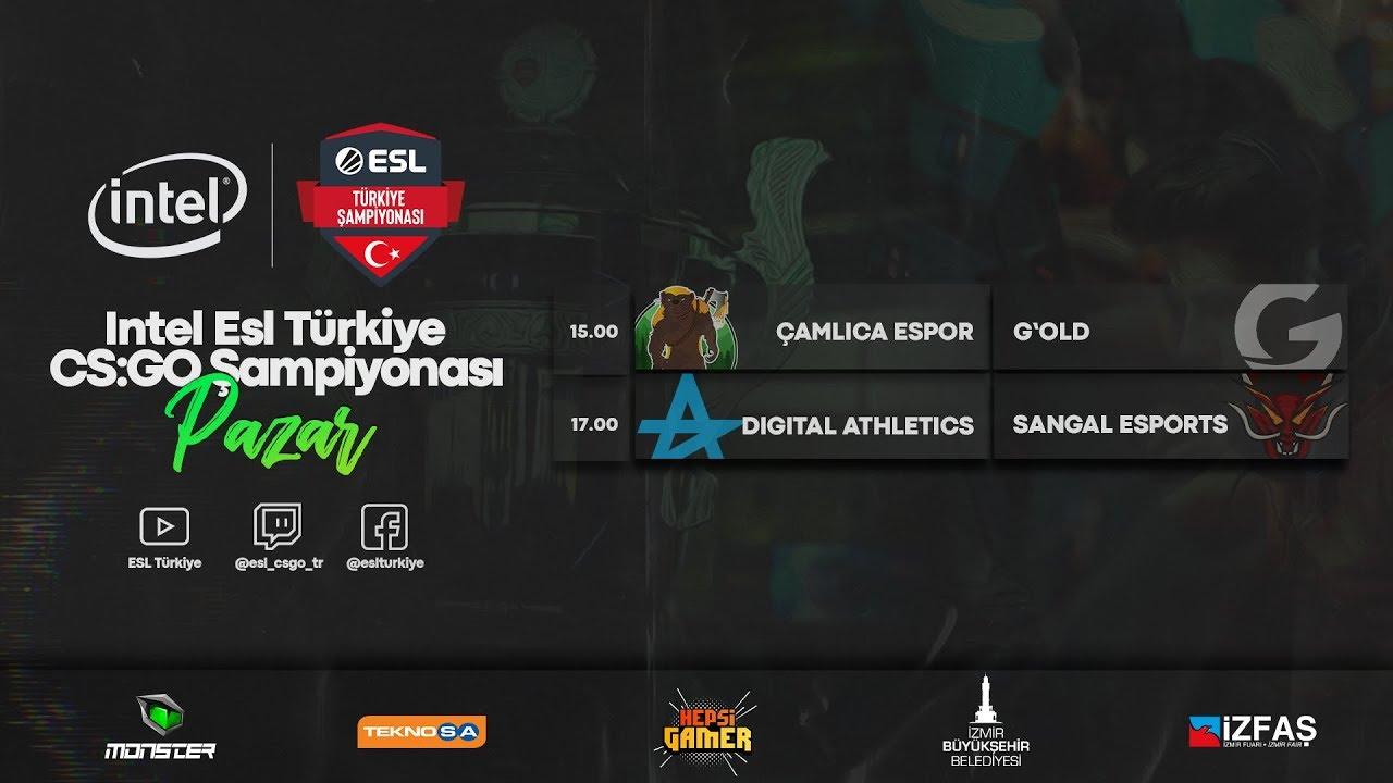 🔴CANLI: Intel ESL Türkiye Şampiyonası | 2020 Yaz Sezonu 5. Hafta 2. Gün Karşılaşmaları