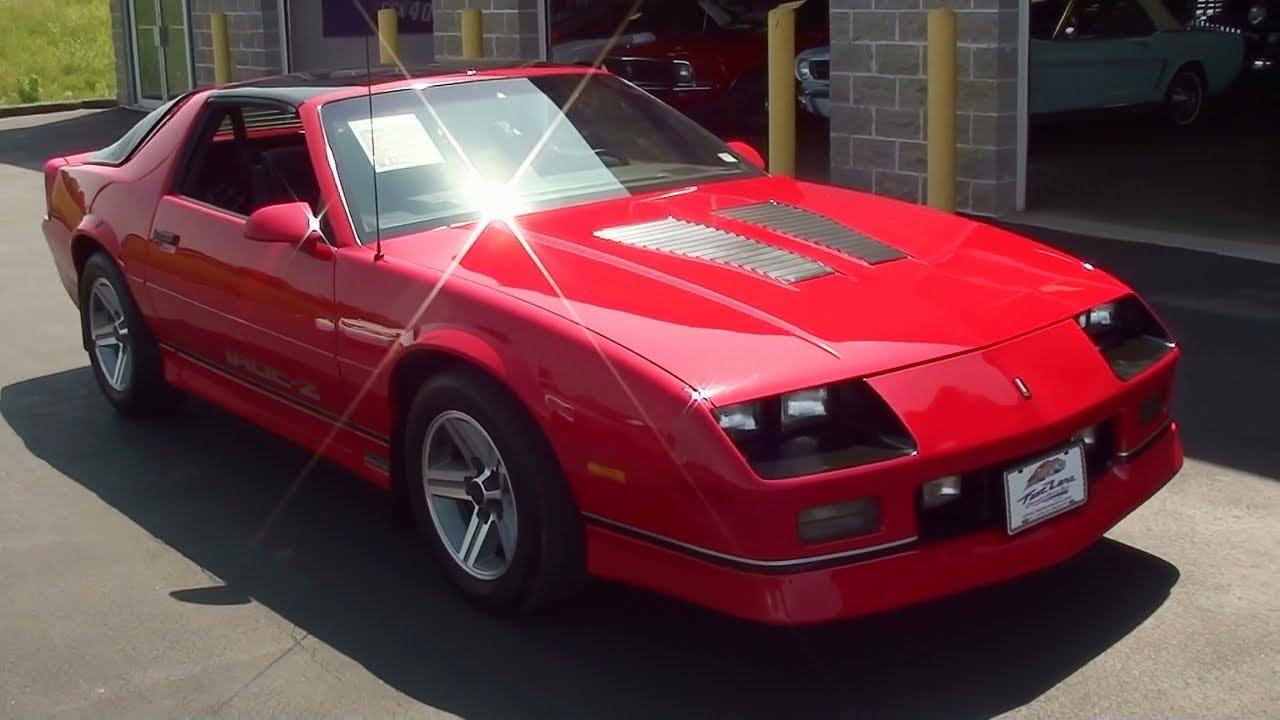 1987 Iroc Z >> Test Drive - 1987 Chevrolet Camaro Iroc Z 57xxx Original Miles - YouTube