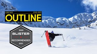 LINE 2020/2021 Outline Skis - The Ultimate Freestyle Powder Ski