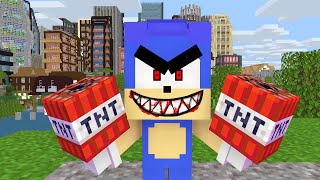 Monster School: SONIC .EXE APOCALYPSE CHALLENGE - Minecraft Animation