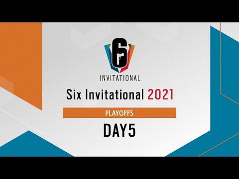 Six Invitational 2021 プレーオフ Day5【レインボーシックス シージ】