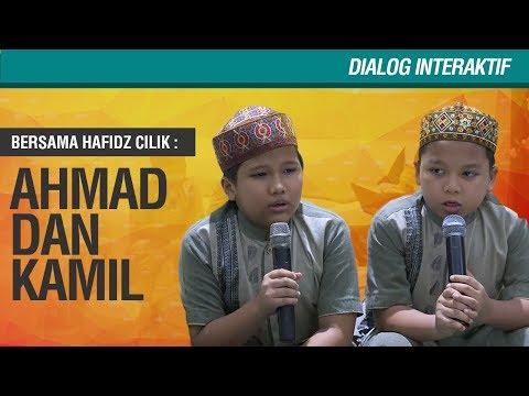 Dialog Interaktif Bersama Juara Hafidz Cilik Ahmad dan Kamil