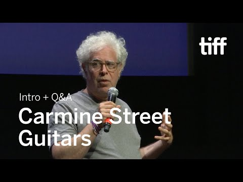 CARMINE STREET GUITARS Director Q&A | TIFF 2018 Mp3