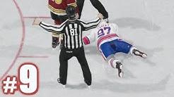 I LOST A FIGHT?!   NHL 18   Be A Pro #9