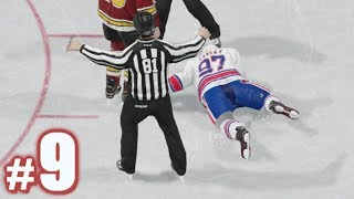 I LOST A FIGHT?! | NHL 18 | Be A Pro #9