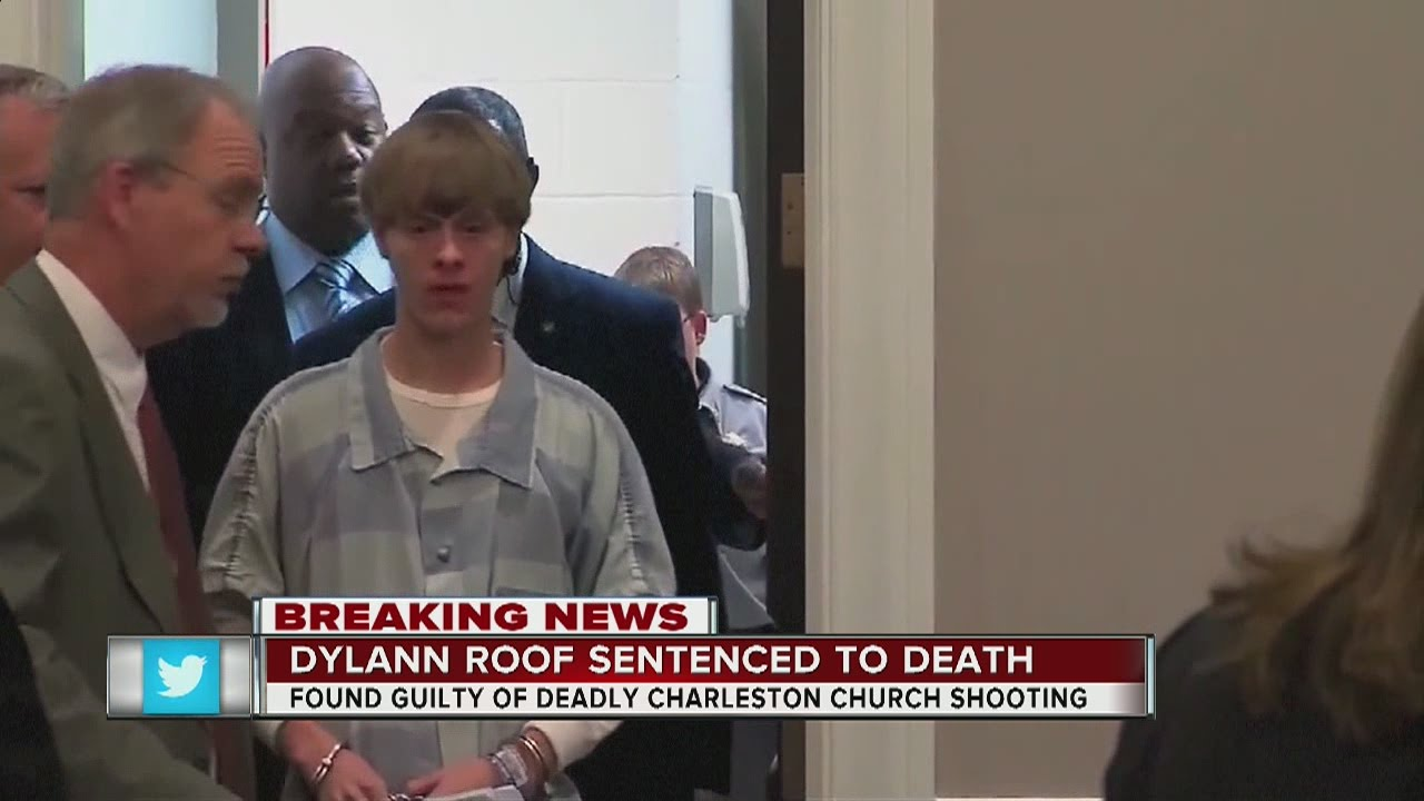 Dylann Roof Sentenced To Death For Charleston Church
