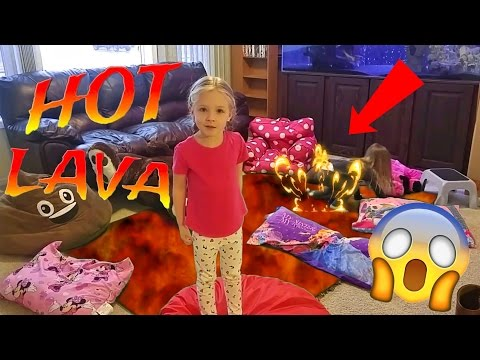 Thumbnail: Hot Lava Children's Game - The Floor is Lava - Kids Hardest Game Ever