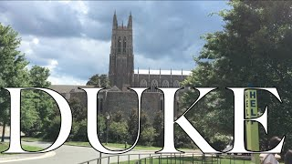 VISITING DUKE- Campus Tour and University Review- Applying to Colleges #4