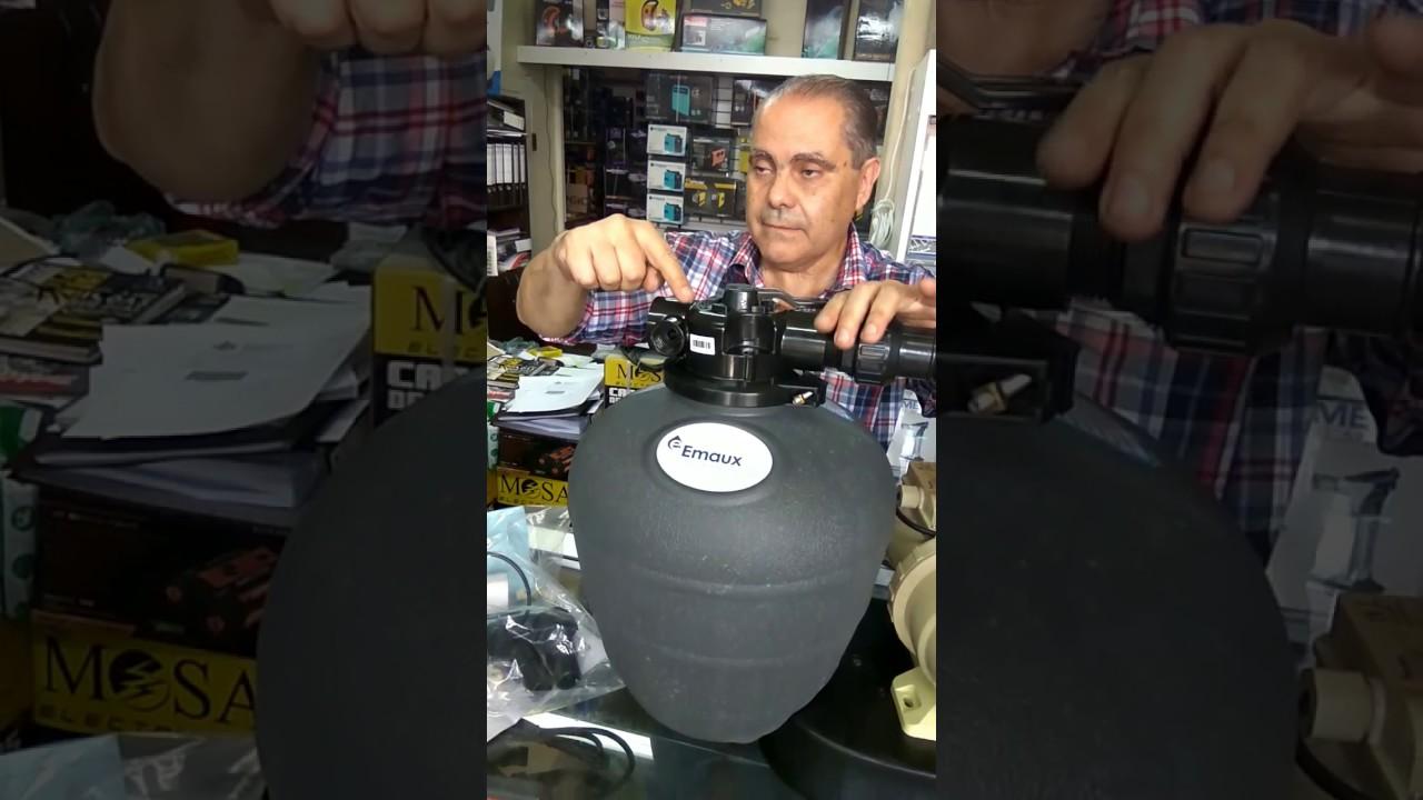 Instalaci n bomba y filtro de piscina youtube for Instalacion bomba piscina