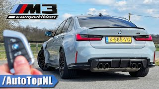 BMW M3 G80 Competition REVIEW on AUTOBAHN by AutoTopNL