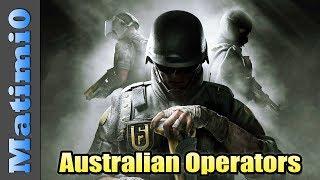 Australian Operators - Rainbow Six Siege