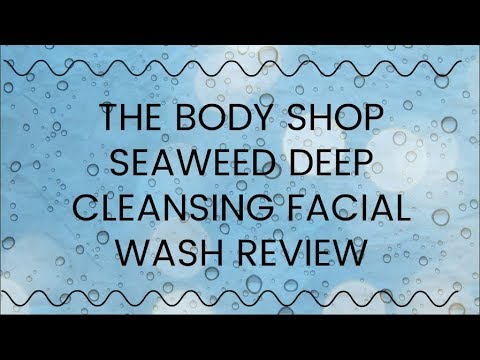 Cleansing wash facial review Seaweed deep