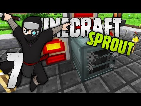 FINALLY! The Assassin's BASE! | Minecraft Sprout | RPG Minecraft Modpack | #6