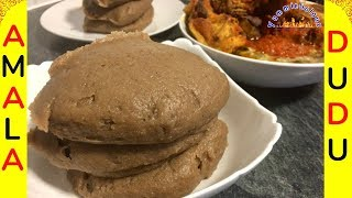 How to Make Amala Nigerian Food Yummielicouz Food Recipes
