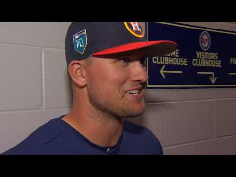 JD Davis Astros 3B/1B Interview March 23