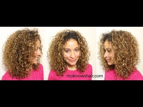 Wash N Go For Low Density Hair Youtube