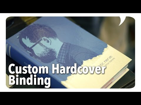 Custom Comic Book Hardcovers Bound by Houchen Bindery