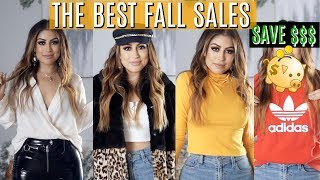 THE BEST FALL SALES TRY ON HAUL 2018: ASOS & MISS LOLA