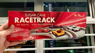 Shell Electric Car using Salt Water and Sugar Cane Race Track Instructional Video