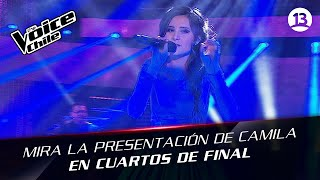 The Voice Chile | Camila Gallardo - Gracias a la vida