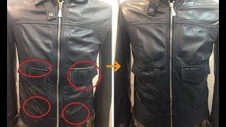 видео Как обновить кожаную куртку в домашних условиях