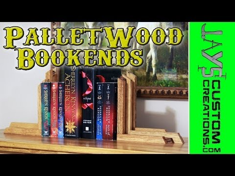 Trash To Treasure - Pallets to Bookends - 142