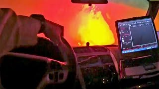 Video Officer's Body Cam Captures Terrifying Moments During Wildfire Evacuations download MP3, 3GP, MP4, WEBM, AVI, FLV Januari 2018