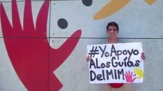 La labor de los guías del MIM #YoapoyoalosguiasdelMIM