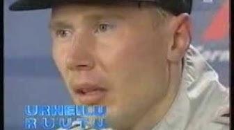 Mika Häkkinen maailmanmestari (YLE-urheiluruutu  01.11.1998)