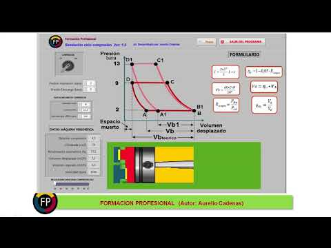Como trabaja un compresor de pistón (Clase 36)